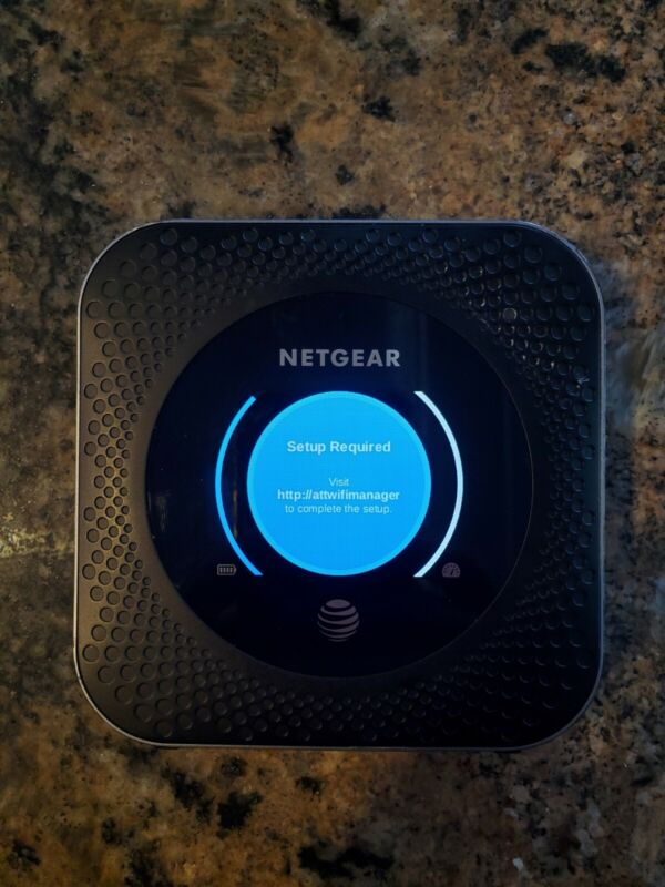 NETGEAR MR1100 Nighthawk 4G LTE Mobile Hotspot Router (AT&T) - Used