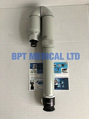 Carl Zeiss Observation Tube For Slit Lamp Sl-130sl-120 Adjustable 125x 18b