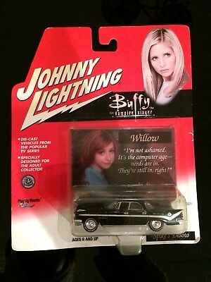 Johnny Lightning Buffy The Vampire Slayer Willow Collectors Card