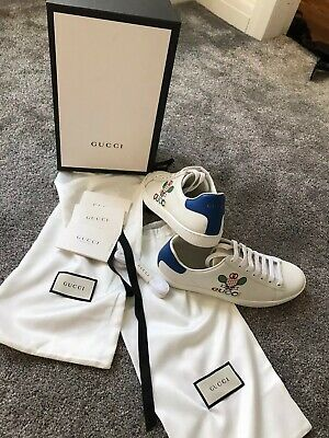 Gucci Ace Italia Ladies Trainer 5.5 rrp £440