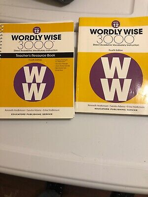 Wordly Wise 3000 Book 12 4th Edition. Set