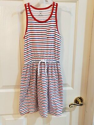 Carter's red white blue 4th of July dress size 6x  (4th Of July Dress)