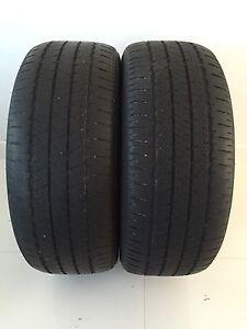 Two 205/55/R16 Allseason Bridgestone Turanza EL400  Goodtread