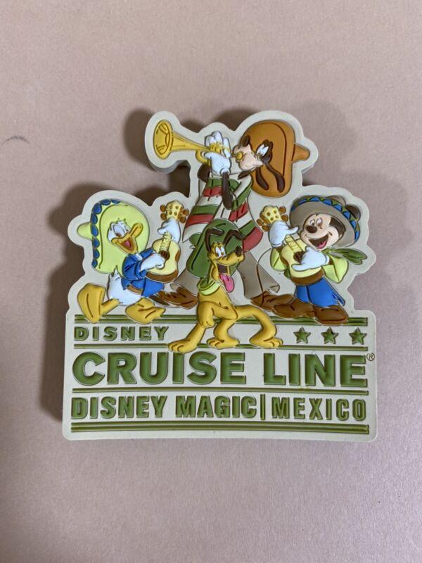 Vintage Disney Cruise Line DCL Disney Magic MEXICO Magnet RARE! NEW! Disneyland