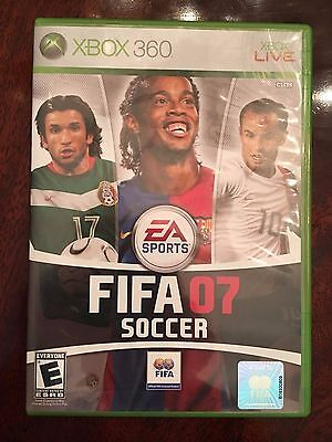 Fifa 07 Soccer  Microsoft Xbox 360  2006    Multiplayer Online Team Ups