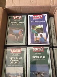Sporty s flight training tapes