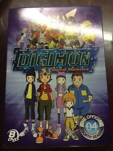 Digimon: The Official Fourth Season Anime DVD  (Sealed)