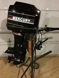 40 hp mercury tiller outboard boat motor 40hp electric for 40 hp dc motor