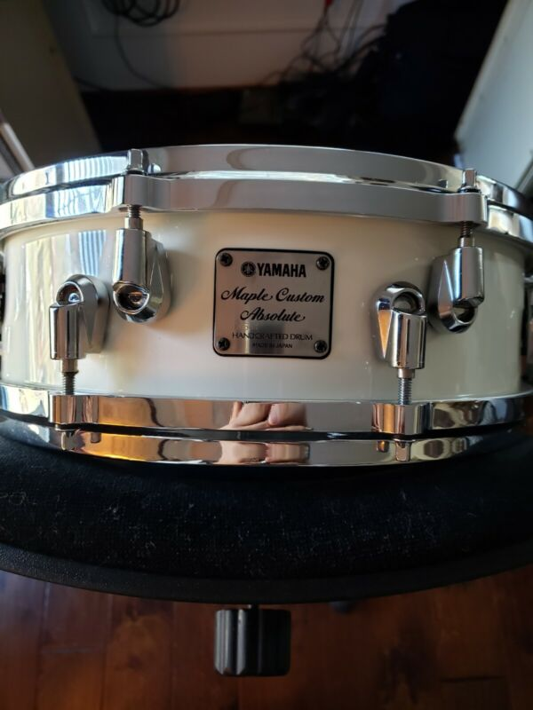 Yamaha Maple Custom Absolute Snare Drum