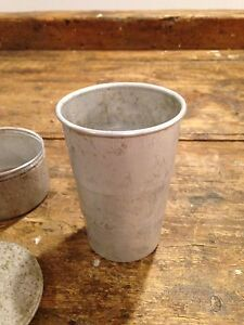 Antique collapsible drinking cup