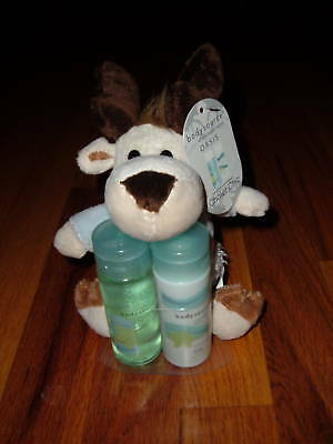 Shower Gel/Body Lotion/Plush Reindeer OASIS Chalet Chic Christmas Holiday Gift for sale  Shipping to India