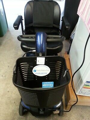 Pride GO GO Elite Traveller LX Mobility Boot Scooter in Blue