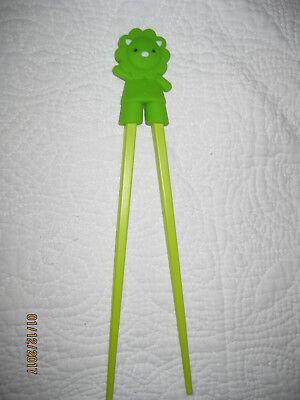 Essstäbchen Löwe grün für Anfänger Kinder Senioren Chopsticks Lernstäbchen