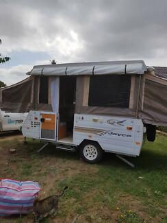 Jayco Poptop Wind up Camper Karabar Queanbeyan Area Preview