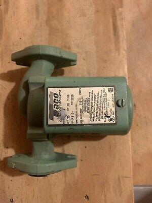 Taco 007-f4 Cast Iron Hot Water Circulator Pump125 Hp