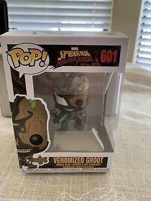 Funko Pop! Spider-Man Maximum Venom Venomized Groot Bobble-Head with protector