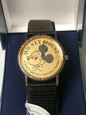 NEW LORUS Mickey Mouse Mickey & CO Walt Disney Productions Vintage Watch R HD002