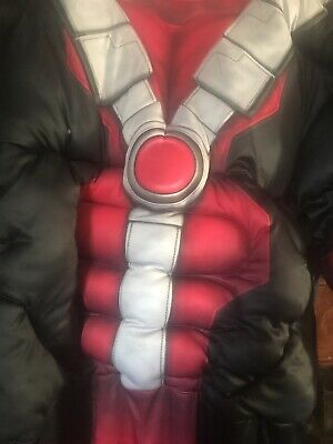 Marvel Adult Deluxe Deadpool Halloween Costume One Size Fitz Most