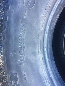Hummer H1 tires 37x12.50R16.5LT