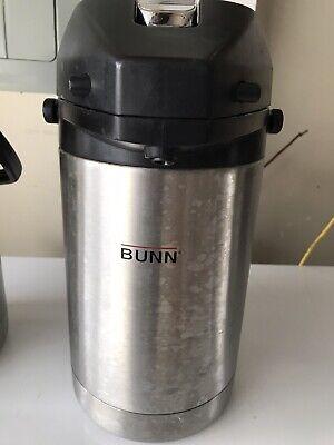 Bunn Airpot Nsf Restaurant Coffee Hot Beverage Dispenser Stainless 32125.0000
