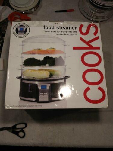 3 tier electric food steamer digital vegetable