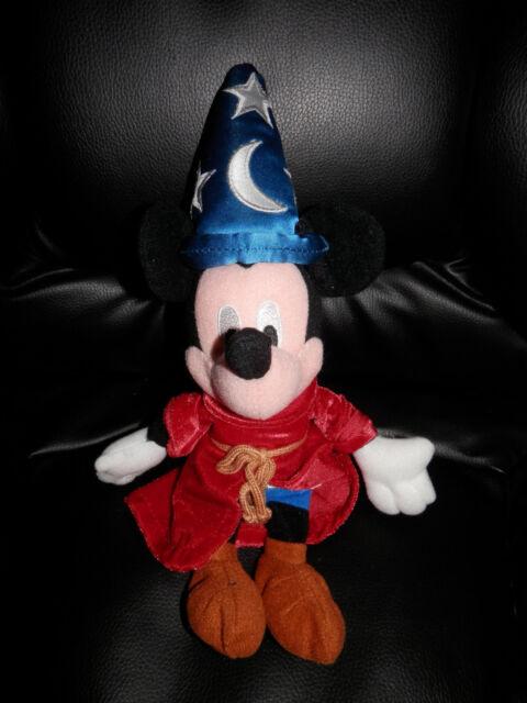 Disney Fantasia Mickey Mouse Sorcerer Plush Bean Bag | eBay