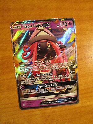 LP Pokemon TAPU LELE GX Card GUARDIANS RISING Set 60/145 Sun and Moon Ultra Rare
