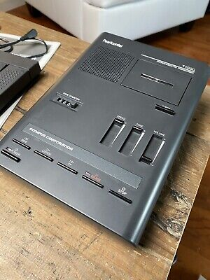 Olympus Pearlcorder T1000 Desktop Cassette Transcriber Recorder Microcassette