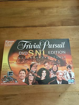New Trivial Pursuit SNL DVD edition Parker Brothers Adult Game Factory Sealed