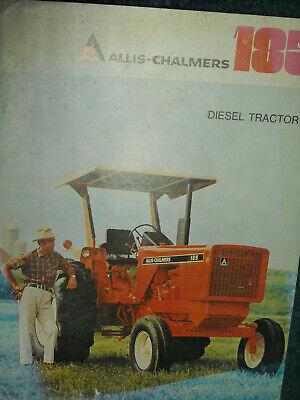 Allis Chalmers 185 Tractor Dealer Brochure