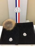Moncler scarf and hat set