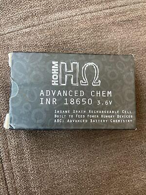 2 Hohm Life 18650 V4 rechargeable battery HΩ 3077 mAh/ 30.2A *BRAND NEW*
