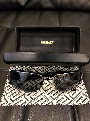 Versace Sunglasses Pre-Owned Model 2021 Black With Original Case 60/15/130