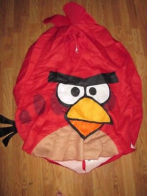 Mens ANGRY BIRD RED foam Halloween Costume sz one size fits most Paper Magic