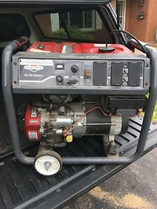 Briggs and Stratton elite generator