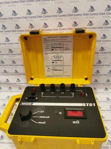 Megger BT51- Digital Milliohmmeter-Operating instructions