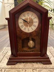 SEIKO QUARTZ Westminister Whittington wood rare antique Pendulum Clock