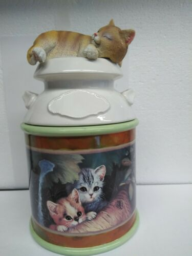 Jürgen Scholz Cat Canister With Freshness Seal