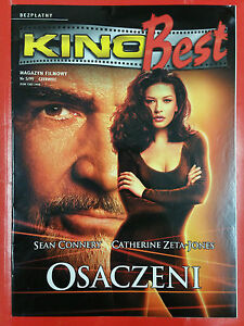 ENTRAPMENT SEAN CONNERY CATHERINE ZETA-JONES - KINO BEST Polish magazine - <span itemprop=availableAtOrFrom>Gdynia, Polska</span> - ENTRAPMENT SEAN CONNERY CATHERINE ZETA-JONES - KINO BEST Polish magazine - Gdynia, Polska