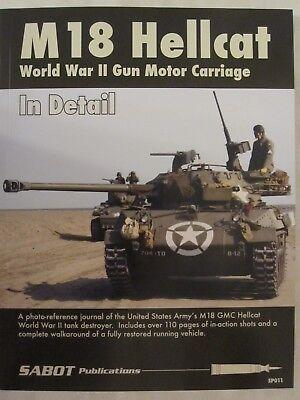 SABOT Publications - M18 Hellcat World War II Gun Motor Carriage in Detail for sale  Gettysburg