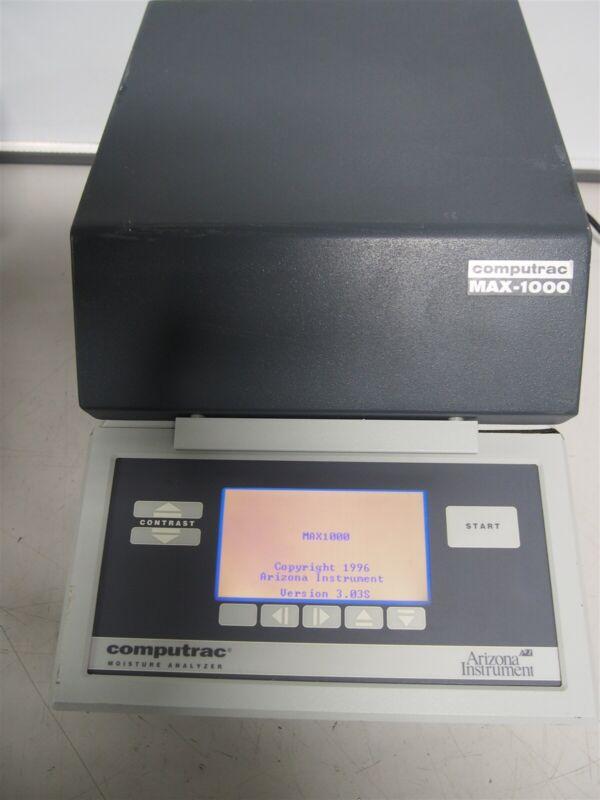 Arizona Instrument Computrac Max-1000 Moisture Analyzer