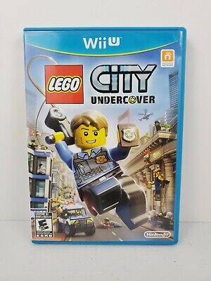 LEGO City Undercover (Nintendo Wii U, 2013) Complete Manual Tested and Works