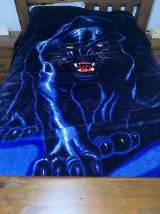 Panther king size blanket