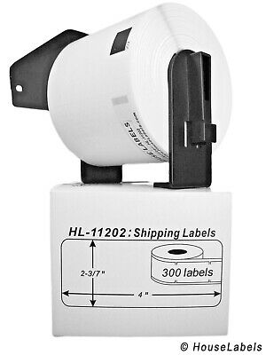 Non-oem Fits Brother Dk-1202 Labels - 1 Roll Of 300 1 Reusable Frame