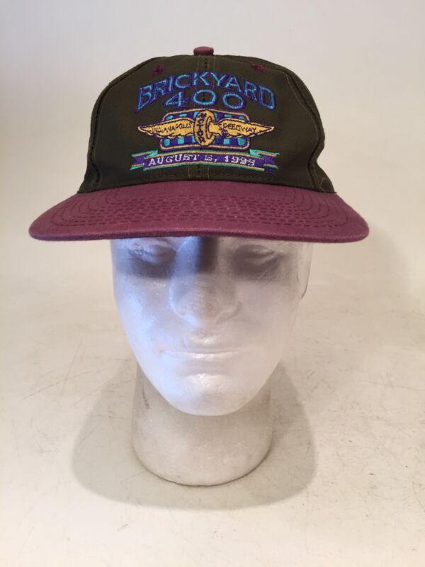 Vintage  1995 Brickyard 400 Snapback Hat Cap Indianapolis NASCAR Rare