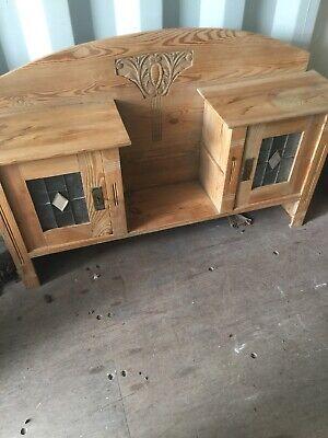 Antique Glazed Pine Dresser Top