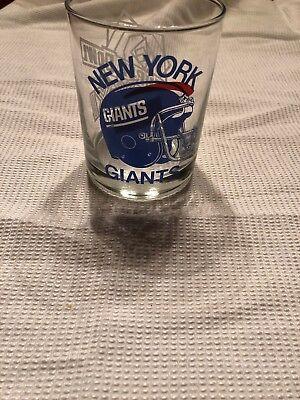 - NEW YORK GIANTS SUPER BOWL XXI GLASS JAN 25,1987 ROSE BOWL PASADENA CA