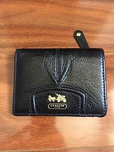 Coach Wallet Black - never used!