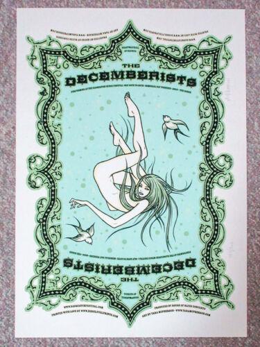 Tara McPherson Signed The Decemberists Sasquatch 2006 Silkscreen Poster - S/N