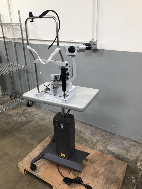 Carl Zeiss SL 130 Slit Lamp W/ Adjustable Table